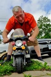 Vlad, der wilde Biker