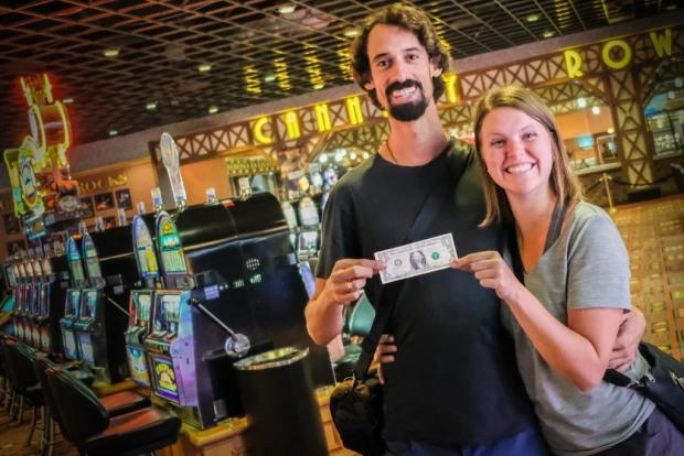 1 Dollar, Casino, Eifelturm, Las Vegas, USA_DSCF5467_1024