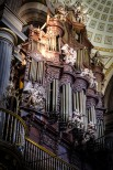 Die Orgel in der Kathedrale von Puebla lässt jedes Rheinländer-Herz höher schlagen. Auch wenn ein paar Pfeifen fehlen.