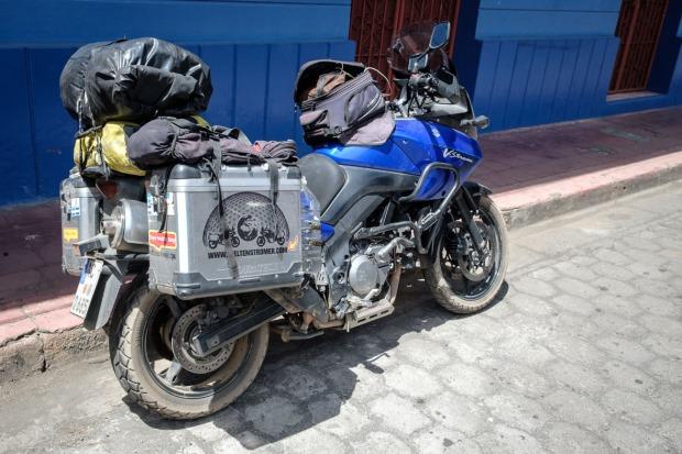 DL650, Gepäck, Nicaragua, TKC70, Touratech, V-Strom, Vulkan Telica_DSCF9055_1180