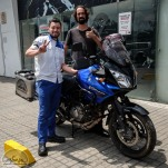 Cristhiam serviced Andreas' bike