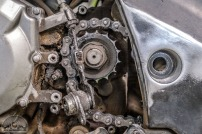 Travelling the world is no picnic: completely worn out drive pinion