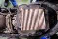 Clogged stock airfilter. In the higher regions of Chiapas, Mexico, we already lost some power due to lower air flow.