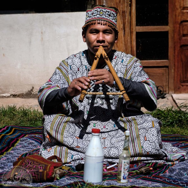 Ayahuaska Zeremonie, Cusco, Flöte, Healing Tree Center, Lucio, Peru, Shaman_DSCF1082_1180