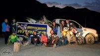 Das Motocross-Streckenteam.