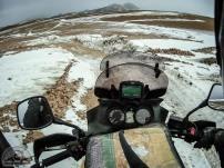 Das Wetter wird immer schlechter und wir müssen noch auf 5.000 m hoch! Wo soll man denn hier langfahren?