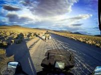 Der Camino a Villa Mar y Laguna Colorada ist eine üble und sandige Wellblechpiste.