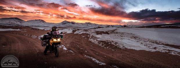 Bolivien, DL650 V-Strom, Laguna Route, offroad, Sena 10c, Shoei, Stadler, Sunset, TKC70, Touratech_DSCF1769_1180